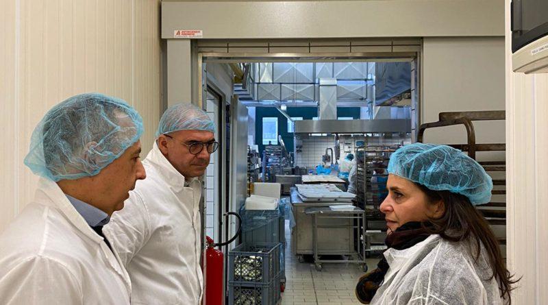 Nadia Rossi (Pd) in visita alle aziende in Valmarecchia, presente anche la ministra Paola De Micheli