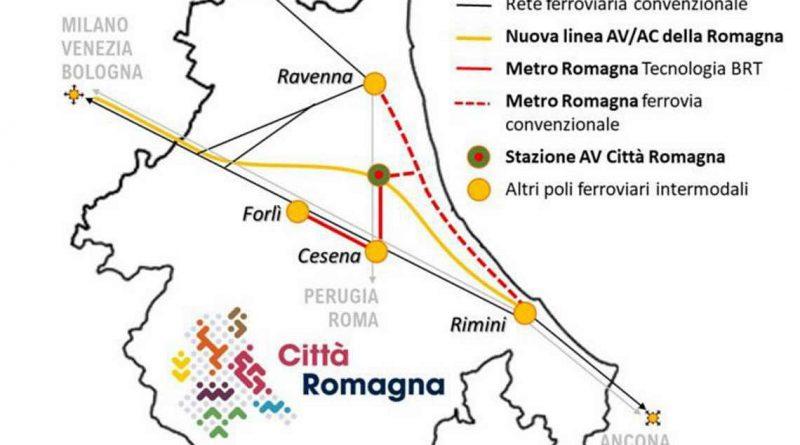 """Tav Romagna, Nadia Rossi (Pd): """"Perplessità sul progetto di Confindustria e sulla stazione unica Città Romagna. Importante incontrarsi per definire un percorso condiviso"""""""